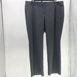 Worthington modern fit trouser leg pants plus sz
